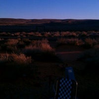 Photo taken at Sand Hollow State Park by Charlie S. on 1/14/2012