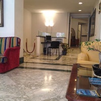 Photo taken at Hotel Cosmopolita Rome by Steven P. on 9/10/2012