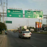 Photo taken at Mueang Min Intersection by eak7729 j. on 12/20/2011
