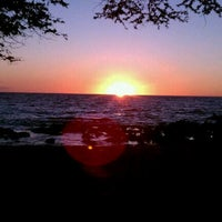 Photo taken at Waialea Beach (Beach 69) by Claudio S. on 11/1/2011