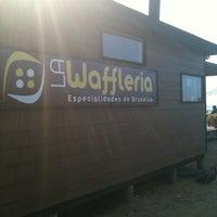 Photo taken at La Wafflería by Mariano on 2/4/2011