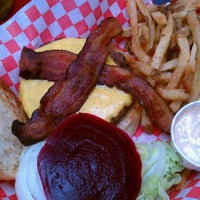 Photo taken at Foster Burger by David S. on 8/1/2011