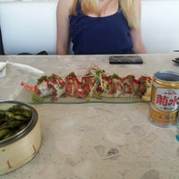 Photo taken at Amici Sushi by Michael M. on 8/18/2012