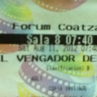 Photo taken at Cinemex by Carlos L. on 8/12/2012