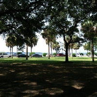 Photo taken at White Point Gardens by BJ H. on 7/3/2012