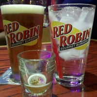 Photo taken at Red Robin Gourmet Burgers by Antonette O. on 2/10/2012