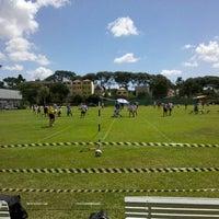 Photo taken at Clube Duque de Caxias by UbiraJara N. on 4/7/2012