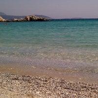 Photo taken at Glikoriza Beach by Stelios L. on 7/25/2012
