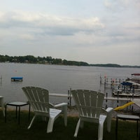 Photo taken at Kenyon's Lakeside and Dining Lng by Keeley O. on 8/4/2012