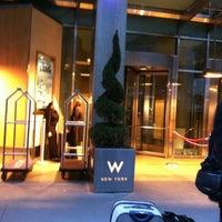 Photo taken at W New York by Berkeley M. on 2/17/2012