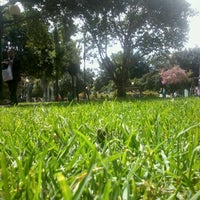 Photo taken at Parque de la 93 by Elkin M. on 7/18/2012