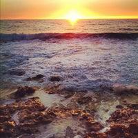 Photo taken at Praia das Bicas by Bruno G. on 8/20/2012