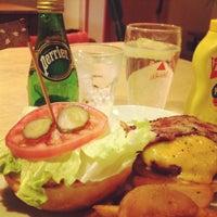 Photo taken at Sakura Burger by Weinasi on 4/8/2012