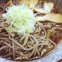 Photo taken at 冷たい肉そば専門店かほく by waiz on 8/30/2012