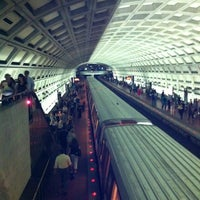 Photo taken at Dupont Circle Metro Station by Kevin D. on 7/12/2012