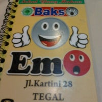 Photo taken at Bakso Emo by Eveline A. on 7/3/2012