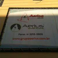 Photo taken at Grupo Aerius - Circo e Aventura by Diego F. on 6/29/2012