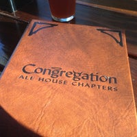 Photo taken at Congregation Ale House by Corey C. on 4/16/2012