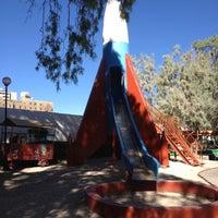 Photo taken at Parque del Cohete by Juan P. on 7/4/2012