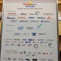 Foto tirada no(a) Flash Memory Summit por Scott S. em 8/21/2012