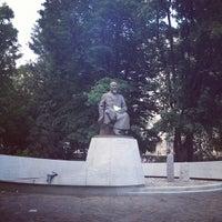 Photo taken at Abay Kunanbayev Monument by Артём К. on 7/7/2012