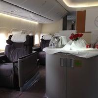 Photo taken at Lufthansa Flight LH 419 by sv H. on 8/7/2012