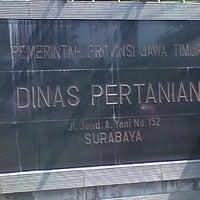 Photo taken at Dinas Pertanian Provinsi Jawa Timur by Rudi Y. on 7/16/2012