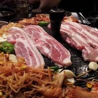 Photo taken at Honey Pig Korean BBQ by Tony K. on 6/12/2012