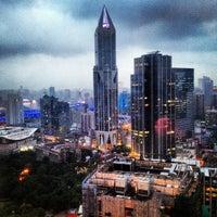 Photo taken at Radisson Blu Hotel by Seda T. on 6/15/2012