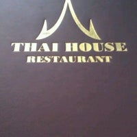 Photo taken at Thai House by Cristina D. on 7/21/2012