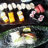 Photo taken at Kazu Sushi by Jeremy N. on 2/12/2012