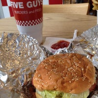 Photo taken at Five Guys by Summer T. on 8/24/2012
