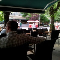 Photo taken at Corner Coffee Bar by Ahmed H. on 6/2/2012