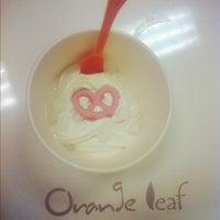 Photo taken at Orange Leaf Frozen Yogurt by Christen S. on 5/21/2012
