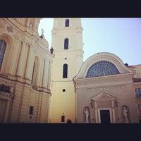 Photo taken at Vilniaus universiteto Filologijos fakultetas by John Lincoln K. on 5/24/2012