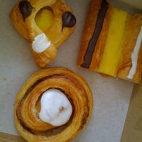 Photo taken at Copenhagen Pastry by Tracey B. on 7/30/2012