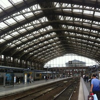 Photo taken at Station Gare Lille-Flandres ⓇⓉ by Nino N. on 7/27/2012
