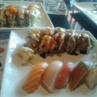 Photo taken at Fusion Sushi by Erika M. on 2/7/2012