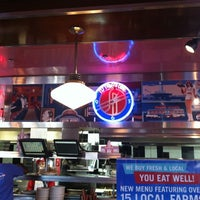 Photo taken at Silver Diner by Ruben C. on 6/4/2012