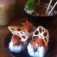 Photo taken at SushiStop by Midtown Lunch LA on 9/10/2012