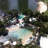 Photo taken at Surfers Paradise Marriott Resort & Spa by Vicky T. on 3/26/2012