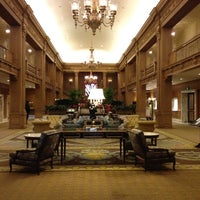 Photo taken at Fairmont Olympic Hotel by Joshua F. on 3/27/2012