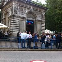 Photo taken at The Euston Tap by Alan D. on 7/4/2012