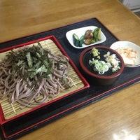 Photo taken at そば処 おふくろさん by Takenori A. on 8/2/2012