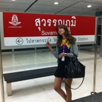 Photo taken at ARL Suvarnabhumi (A1) by Olives N. on 6/18/2012