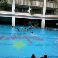 Photo taken at Nirmala Swimming Pool by Febianisa on 3/1/2012