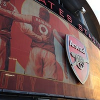 Photo taken at Emirates Stadium by Piero P. on 3/15/2012