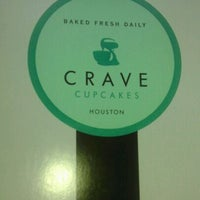 Photo taken at Crave Cupcakes by Teresa R. on 4/12/2012