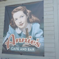 Photo taken at Annie's Cafe & Bar by Garland T. on 8/4/2012