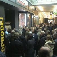Photo taken at Lucerna Music Bar by jana f. on 3/14/2012